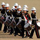 Corps of Drums - Royal Marines by Colin Shepherd