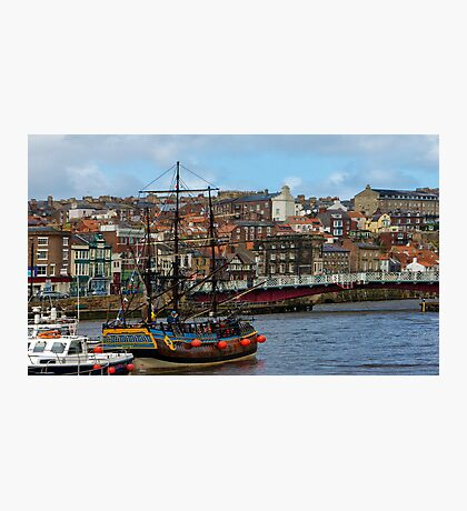 The Bark Endeavour Whitby Photographic Print