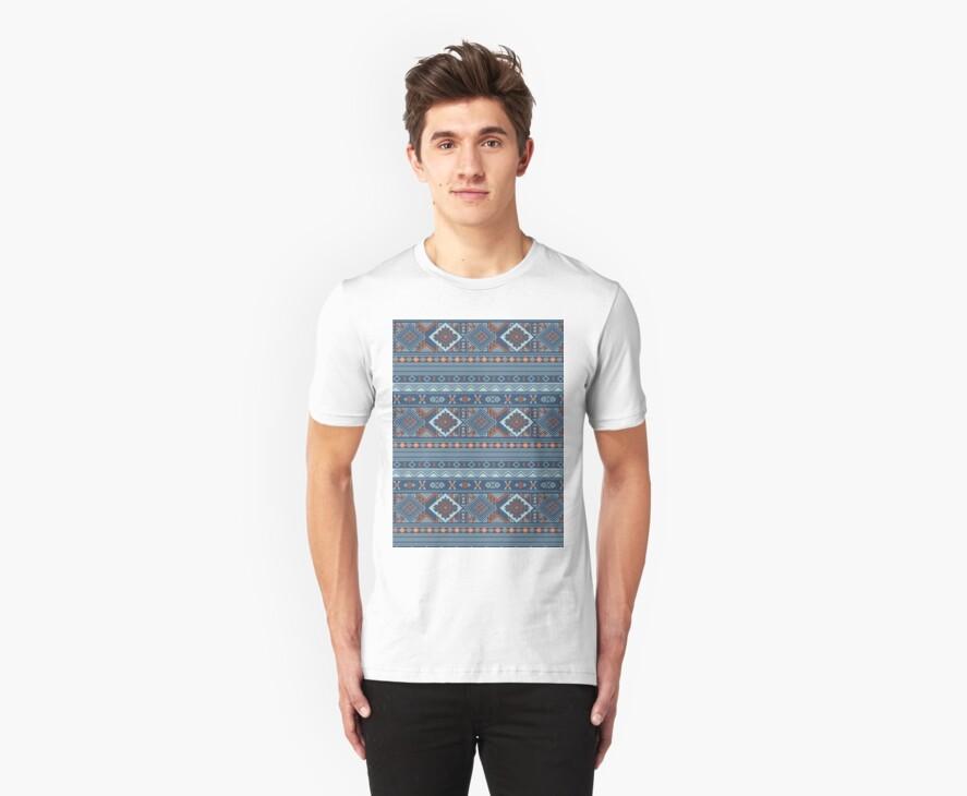 Aztec Pattern T-Shirt by Jordan Bails