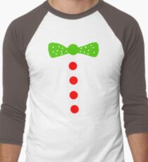 Gingerbread Man Halloween costume  Men's Baseball ¾ T-Shirt
