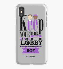 Lobby Boy  iPhone Case/Skin