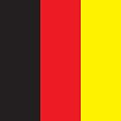 Germany Flag Phone Cover by Matt Burgess