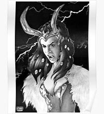 Lady Loki Enraged Poster