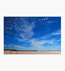 Sky Galaxy - Freshwater West Photographic Print