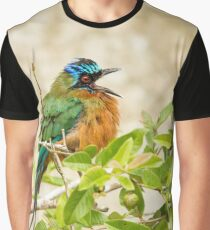 Trinidad Motmot Graphic T-Shirt