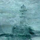 Lighthouse Impasto by Sarah Vernon