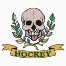 Hockey Skull by SportsT-Shirts