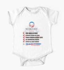 Obama Accomplishments Tee Kids Clothes