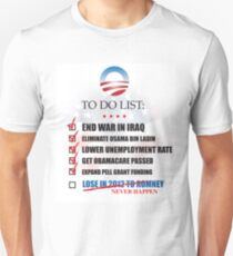 Obama Accomplishments Tee T-Shirt