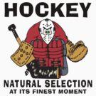 Funny Hockey Player by SportsT-Shirts