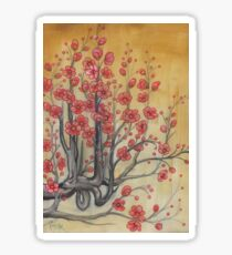 flowering quince Sticker