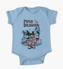 PIPES & DRAGONS One Piece - Short Sleeve