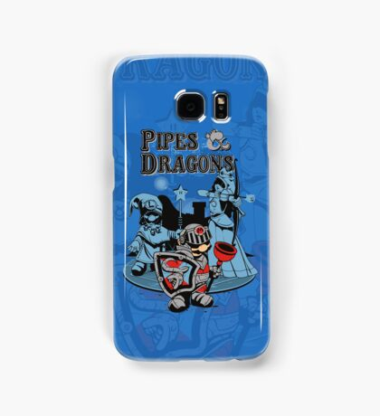 PIPES & DRAGONS Samsung Galaxy Case/Skin