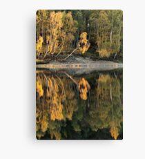 Loch Meig Reflection Canvas Print