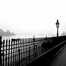 Fog on the Thames by KarenM