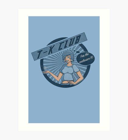 The T-K Club Art Print