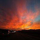 Orange Skys  by LoveJess