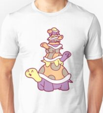Cute Turtle Stack Unisex T-Shirt