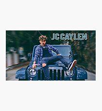 JC Caylen Jeep Fotodruck