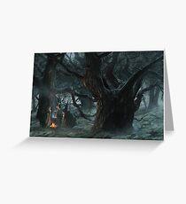Halloween's Magic Caldron Greeting Card