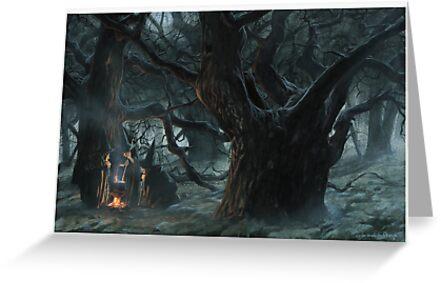 Halloween's Magic Caldron by JBMonge