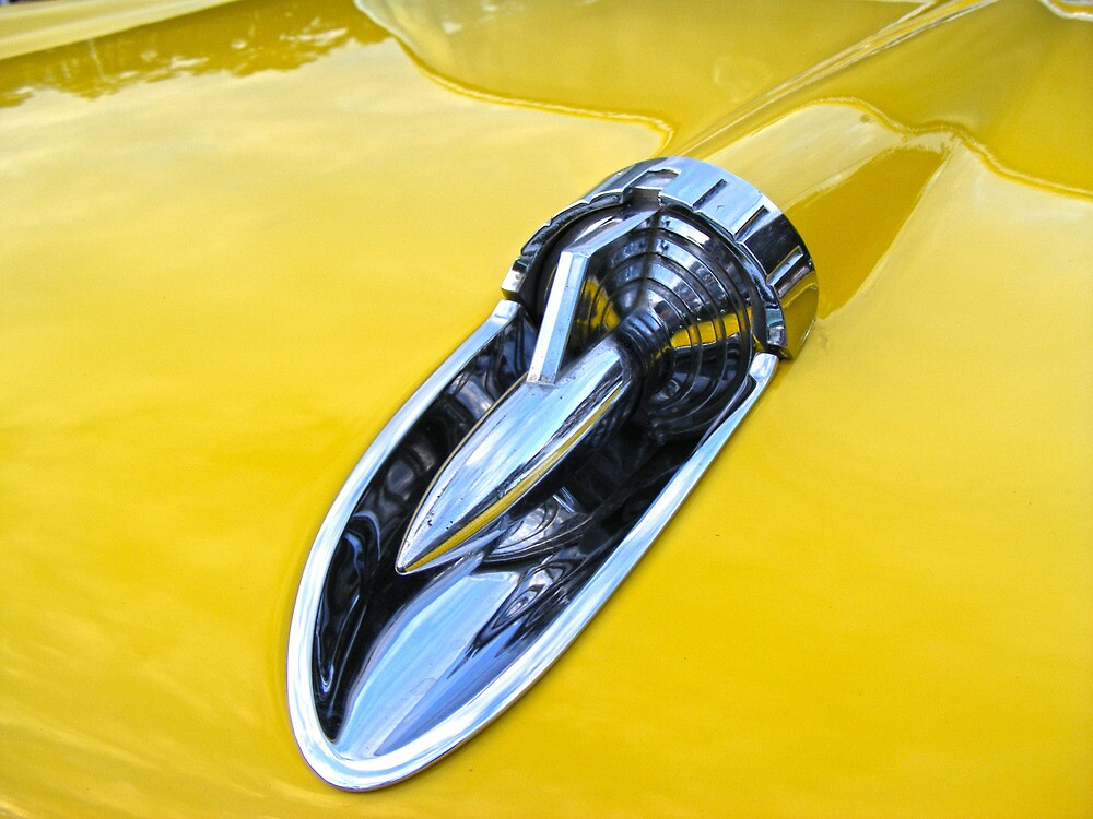 57 Chevrolet Bel Air Car by Russell Voigt