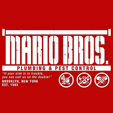 Mario Bros. Plumbing & Pest Control by wildwing64