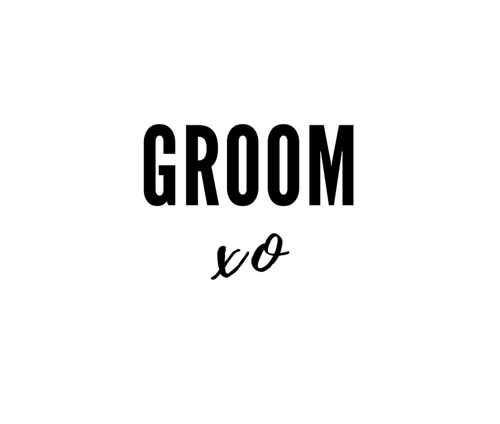 Groom xo by Red-Arrow