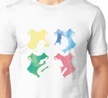 Hogwarts Houses Watercolor  Unisex T-Shirt