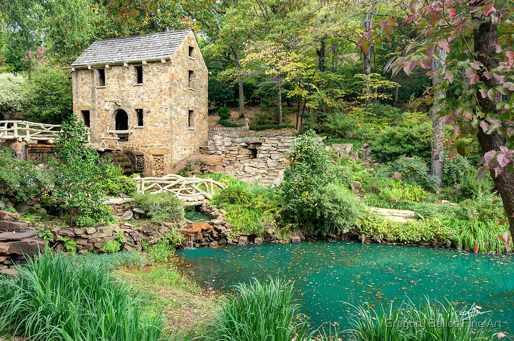 The Old Mill - North Little Rock (Pugh's Mill 1832) by Gregory Ballos