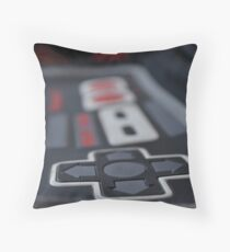 classic gamer Throw Pillow