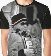 Street musician Graphic T-Shirt