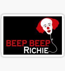 Beep beep, Richie Sticker