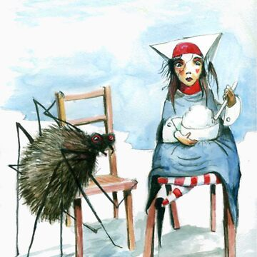 Little Miss Muffet by sonofsamorr