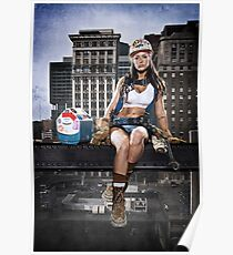 Ciara - The Iron Worker Poster