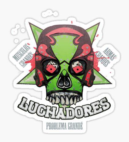 Los Luchadores Sticker