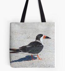 Black Skimmer Tote Bag