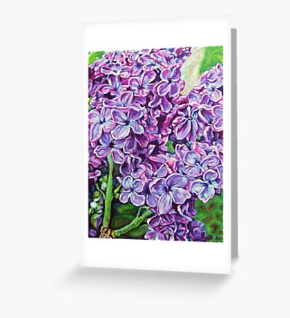 Lilacs No.1 Greeting Card