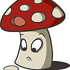 Confused Shroom  by Rebecca Barkley