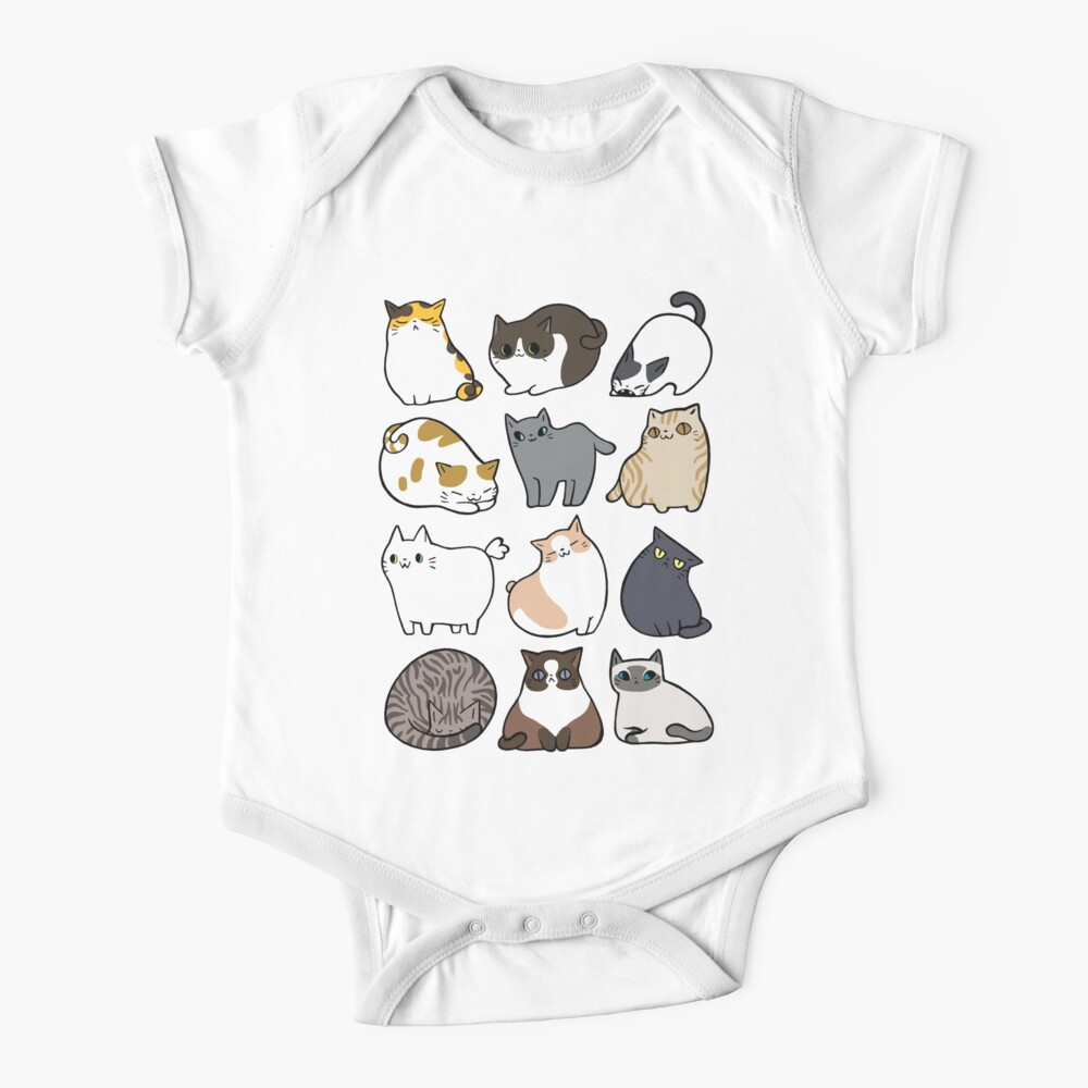Cats Cats Cats Baby One-Piece