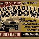 Rockabilly Showdown Poster by Jason Lonon