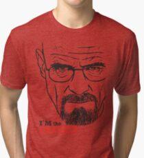 Walter White Breaking Bad Tri-blend T-Shirt