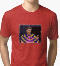 Peace Mitt? Tri-blend T-Shirt