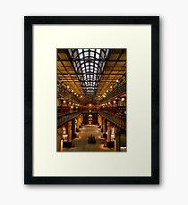 Inside the Mortlock Wing Framed Print