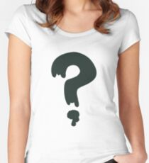 gravity falls soos  Women's Fitted Scoop T-Shirt