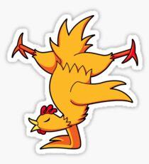 ninjitzoo - nunchook Sticker