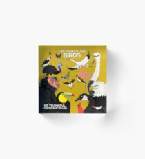 I Am Thankful For Birds Acrylic Block