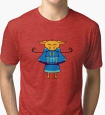 ninjitzoo - mooshu Tri-blend T-Shirt