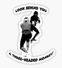 Monkey Island fencing commision Sticker