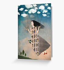Bird House Greeting Card